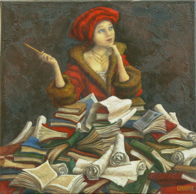 woman-and-books